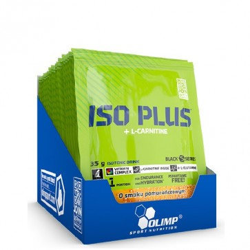 OLIMP ISO PLUS + L-KARNITYNA SASZETKA 35g