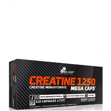 OLIMP CREATINE 1250mg MEGA CAPS ® - 120 KAPSUŁEK