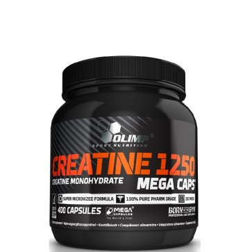 OLIMP CREATINE 1250 MEGA CAPS ® - 400 KAPSUŁEK