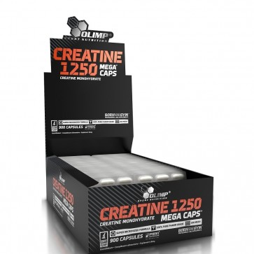 OLIMP CREATINE 1250mg MEGA CAPS ® - BLISTER 30 KAPSUŁEK