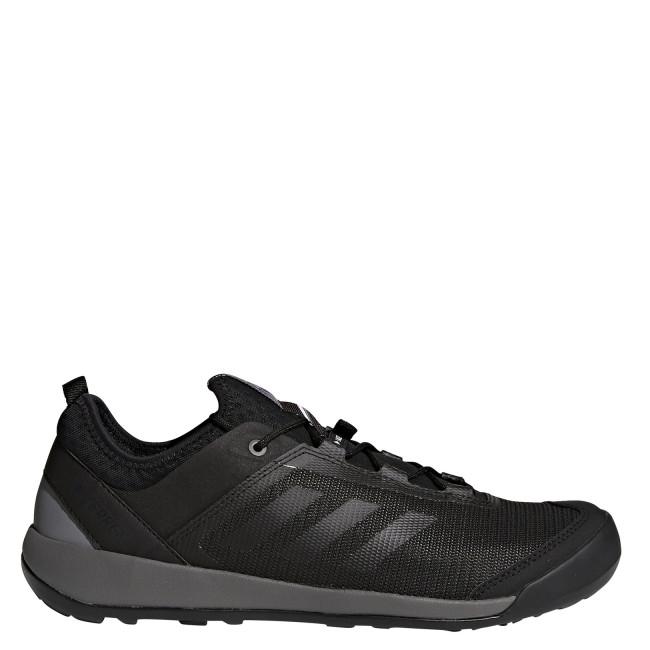 Buty sportowe męskie Adidas terrex ze skóry ekologicznej w