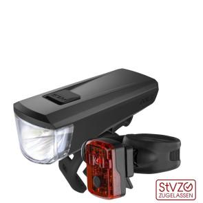 LAMPA ROWEROWA KELLYS NOBLE USB - KOMPLET