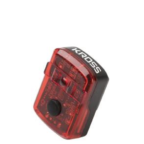 LAMPA ROWEROWA KROSS LITTLE RED USB - TYŁ