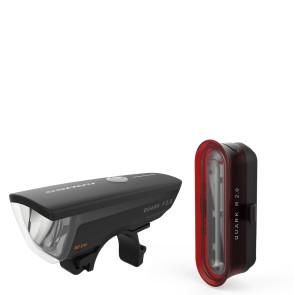 LAMPA ROWEROWA KROSS QUARK SET 2.0 USB - KOMPLET
