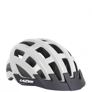 KASK ROWEROWY LAZER COMPACT WHITE UNI