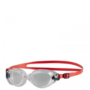 OKULARKI SPEEDO FUTURA CLASSIC JUNIOR CLEAR/RED
