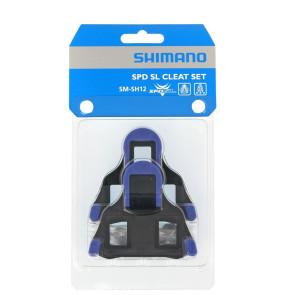 BLOKI SHIMANO SPD-SL SM-SH12 NIEBIESKIE