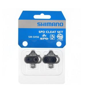 BLOKI SHIMANO SPD SM-SH56 SREBRNE