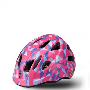 KASK ROWEROWY SPECIALIZED MIO MIPS ACID PINK GEO TODDLER